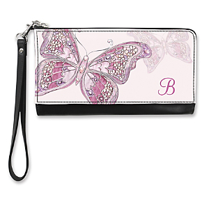 On the Wings of Hope Monogram - B - Large Wristlet Purse (1801342003) photo