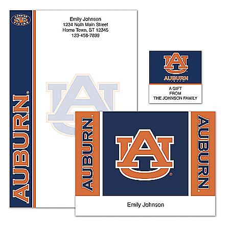 Auburn University Personalized Stationery