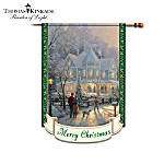 Thomas Kinkade Decorative Flag Collection