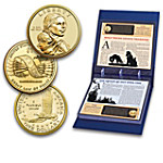 Native American Collectibles The Complete Collection Of Uncirculated Native American Golden Dollar Coins