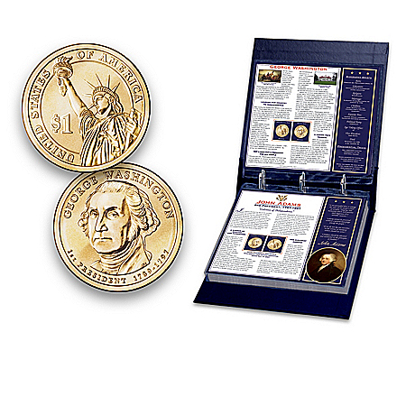 U.S. Presidential Dollar Coin Collection: Uncirculated Collectible