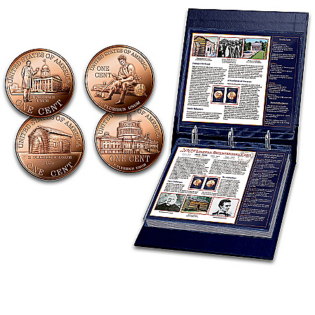 The Bicentennial Commemorative Abraham Lincoln Coin Set: 1909-2009 Lincoln Cent Collection