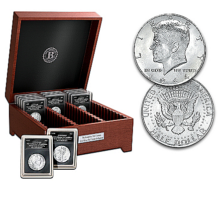 Complete 20th Century U.S. Silver Half Dollar Coin Collection