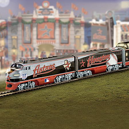 Houston Astros Express Major League Baseball Train Collection