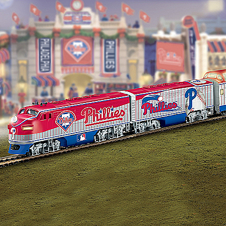 Hawthorne Village Philadelphia Phillies Express Major League Baseball Train