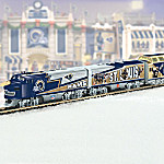 Collectible St. Louis Rams Express Electric Train Collection
