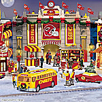 Christmas Village Collectibles Kansas City Chiefs Collectible Christmas Village Collection