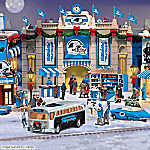Christmas Village Collectibles Carolina Panthers Collectible Christmas Village Collection