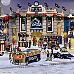 Christmas Village Collectibles St. Louis Rams Collectible Christmas Village Collection