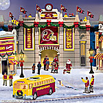 Christmas Village Collectibles Washington Redskins Collectible Christmas Village Collection
