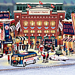 Boston Red Sox Christmas Village Collection