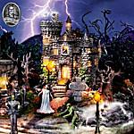 Universal Studios Monsters Halloween Village Collection