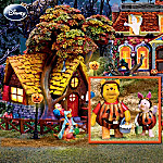 Winnie The Pooh's Haunted Acre Halloween Village Collection