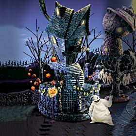 Nightmare Before Christmas Halloween Village