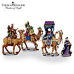 Thomas Kinkade We Three Kings Figurine Collection
