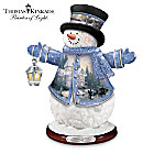Thomas Kinkade Winter Wonderland Heirloom Classics� Snowman Figurine Collection