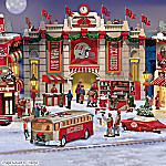 Tampa Bay Buccaneers Collectible Christmas Village Collection