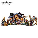 Thomas Kinkade Christmas Nativity Collection