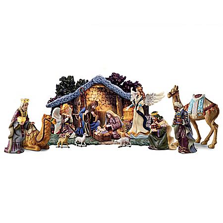 Thomas Kinkade Christmas Nativity Collection: Star Of Hope