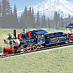 Hawthorne Village The Spirit Of America Patriotic Electric Train Collection