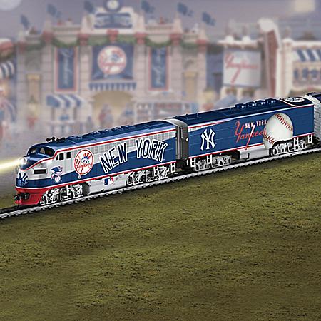 New York Yankees Express Major League Baseball Train
