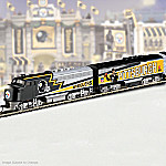 Pittsburgh Steelers Super Bowl Express Collectible NFL Football Electric Train Collection