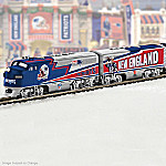 New England Patriots Illuminated Train With Super Bowl XLIX Car