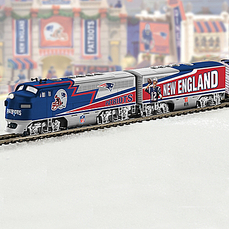 NFL New England Patriots Super Bowl Champion Train Collection: Super Bowl Express