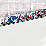 NFL Football New York Giants Express Electric Train Collection