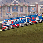 MLB-Licensed Chicago Cubs World Series Champions HO-Scale Train Collection