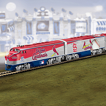 St. Louis Cardinals Express Electric Train Collection