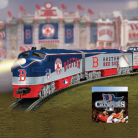 Boston Red Sox 2013 World Series Champions Express Electric Train Collection