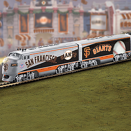MLB-Licensed San Francisco Giants World Series Champions HO-Scale Train Collection