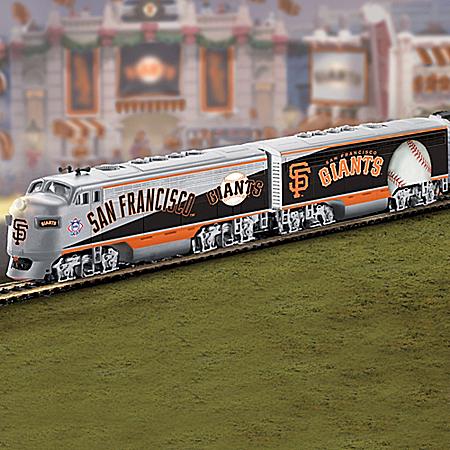 San Francisco Giants Express Major League Baseball Train Collection