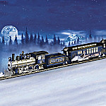 Silver Moon Express Wolf Art Electric Train Collection