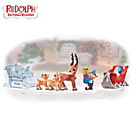 Rudolph The Red Nosed Reindeer® Christmas Village Accessory Collection