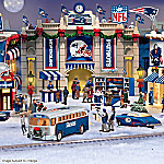 Christmas Village Collectibles Collectible New England Patriots Christmas Village Collection