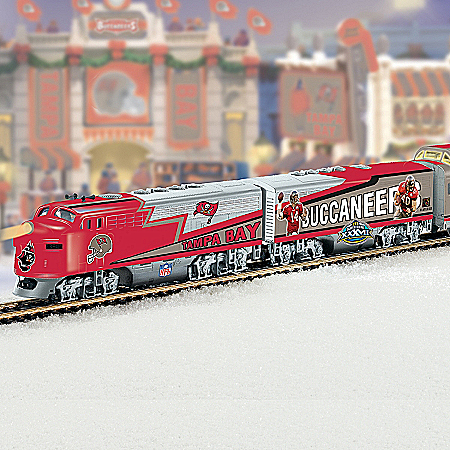 Tampa Bay Buccaneers Express Electric Train Collection