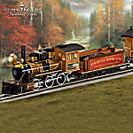 Thomas Kinkade End Of A Perfect Day Express Electric Train Collection