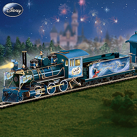 Magic Of Disney Express Electric Train Collection