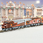 Collectible NFL Football Cleveland Browns Express Electric Train Collection
