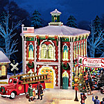 Firefighter Christmas Village Collection
