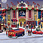 Houston Texans Collectible Christmas Village Collection