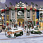 Christmas Village Collectibles New York Jets Collectible Christmas Village Collection