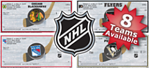 Choose From 8 NHL Teams