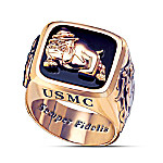 USMC Semper Fi Marine Corps Mens Ring