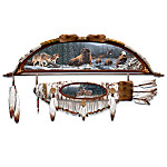 Natures Sacred Guardians Native American Style Bow And Arrow Wall Decor Collection