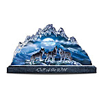 Mountain Monarchs Collectible Wolf Art Figurine Collection