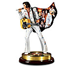 Elvis Presley: The Legendary Performer Collectible Musical Figurine Collection