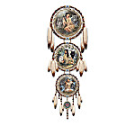Russ Docken Kindred Spirits Fantasy Dreamcatcher Collection: Wolf Art Home Decor Gift